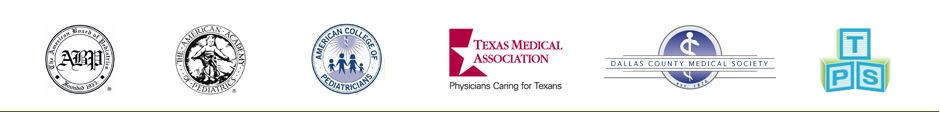 Memberships of our Dallas pediatricians